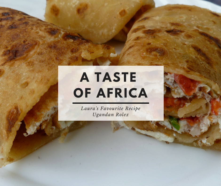 A Taste of Africa , Really Tasty Rolex, a traditional